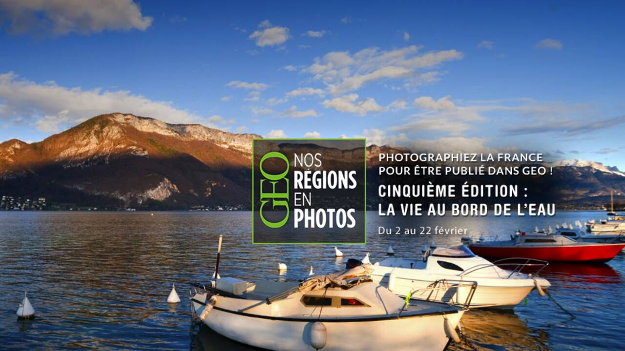 """Grand concours GEO """"Nos régions en photos"""" - Cinquième édition"""