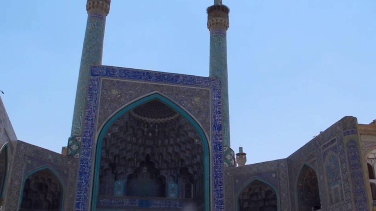 VIDÉO : Ispahan, la ville d'émail bleu (Making-of Iran 1/4)