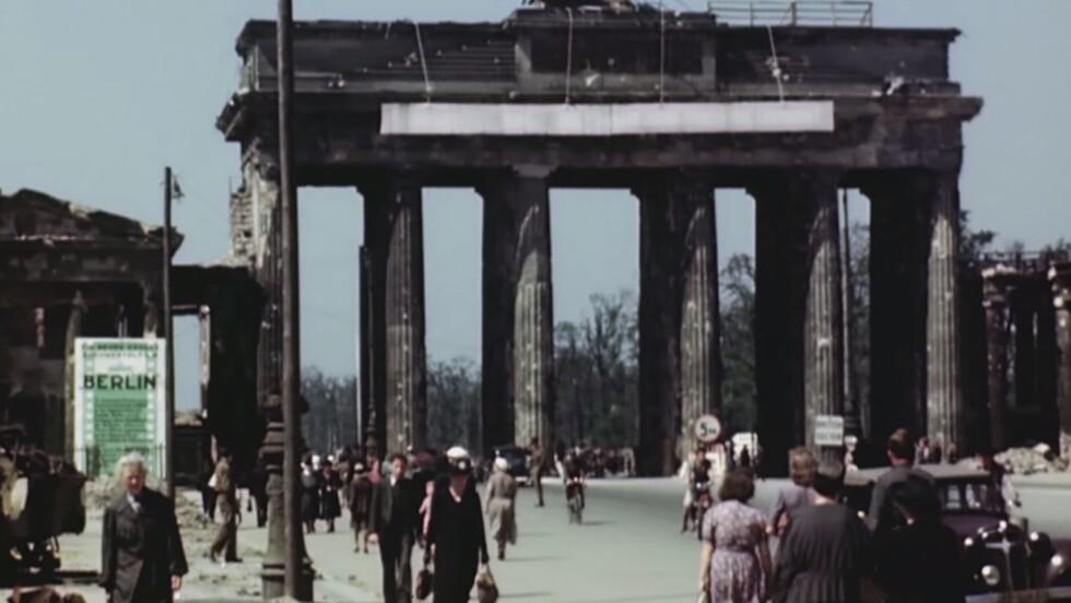 VIDÉO : Berlin en juillet 1945, des images inédites