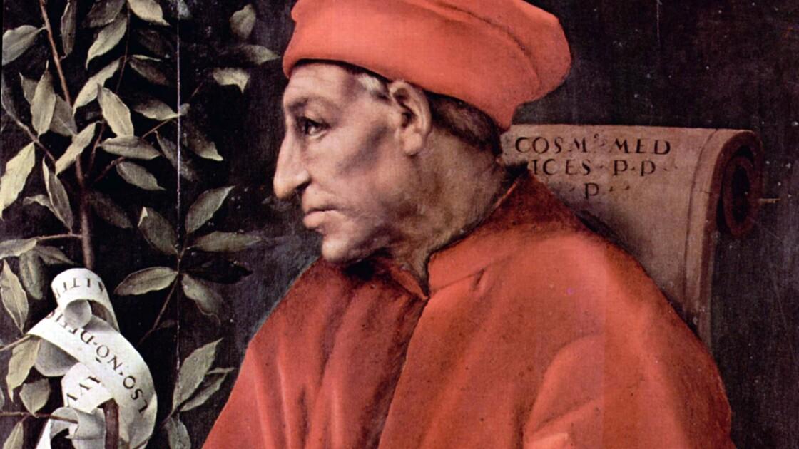 Cosme l'Ancien, une des grandes figures des Médicis