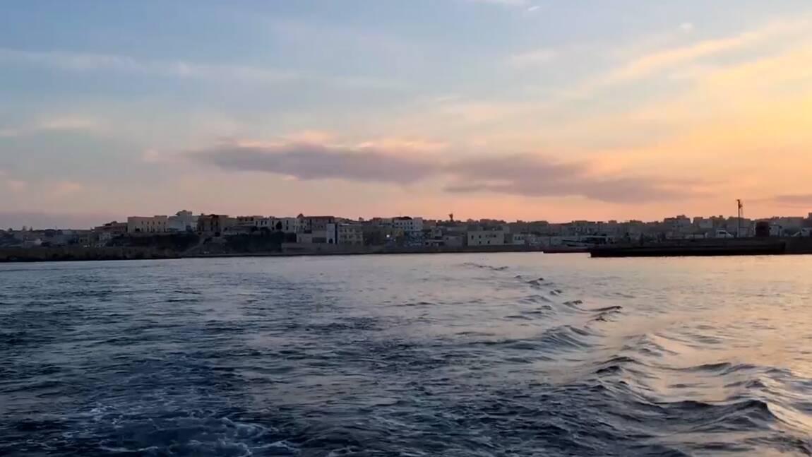 VIDÉO - Lampedusa, l'île de la consolation