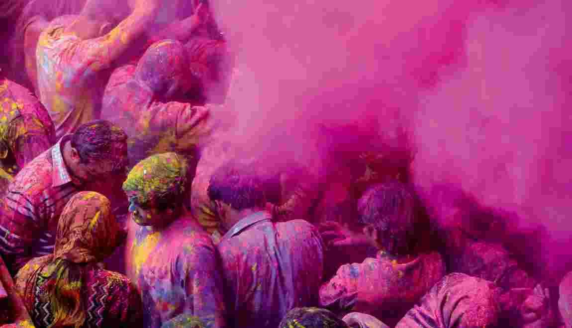 Holi, l'Inde en folie