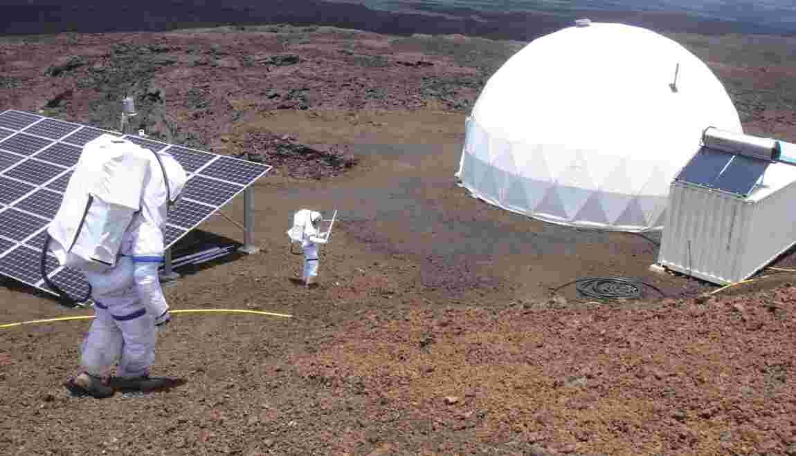 VIDÉO : La vie sur Mars (ou presque)