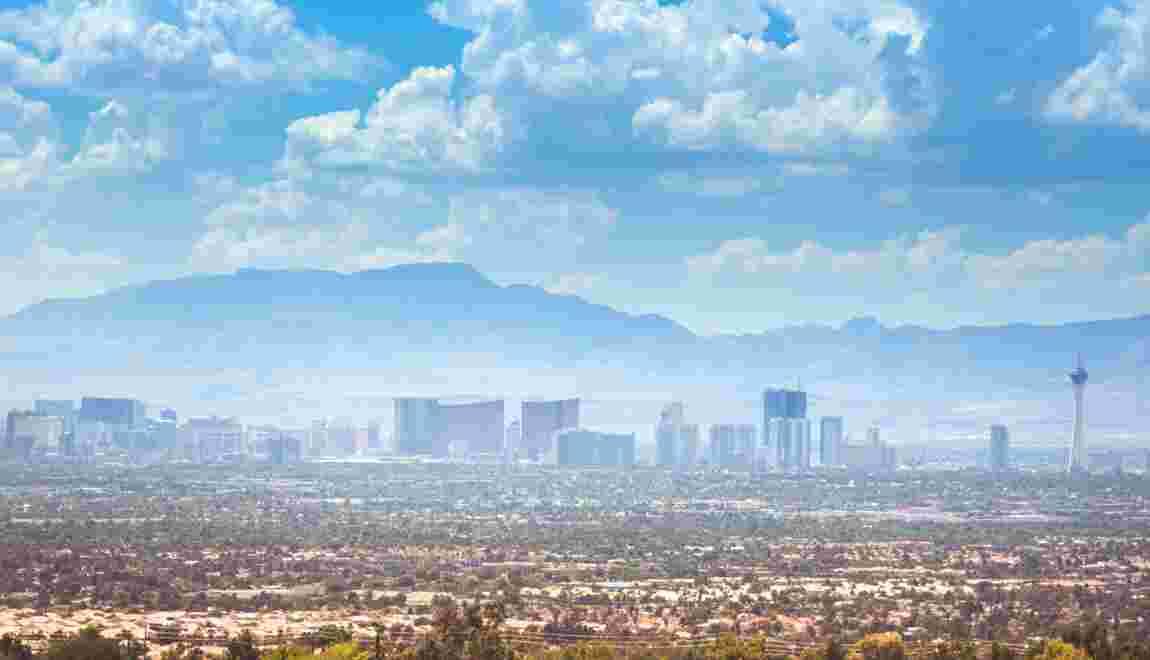 Las Vegas au régime sec