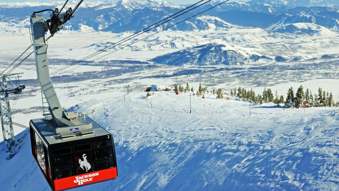 Etats-Unis : à Jackson Hole, le plaisir du ski à l'état pur