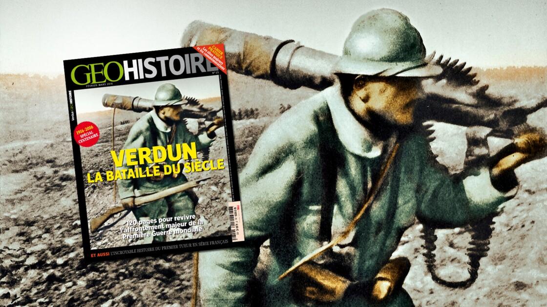 Verdun : la bataille du siècle, dans le nouveau GEO Histoire