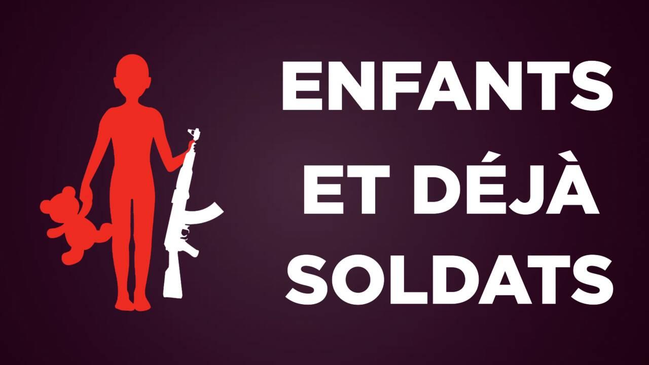 VIDÉO : Enfants et déjà soldats