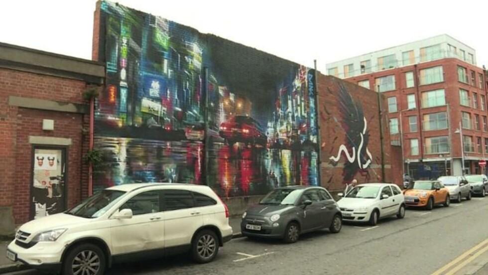 A Belfast, le street art contre les clivages communautaires
