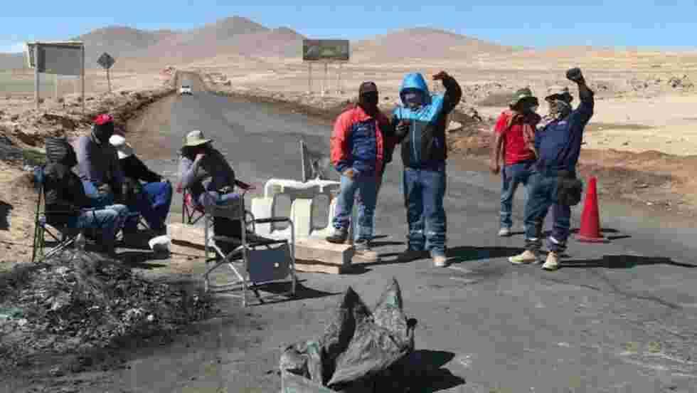 Chili: un mois de grève dans la plus grande mine de cuivre