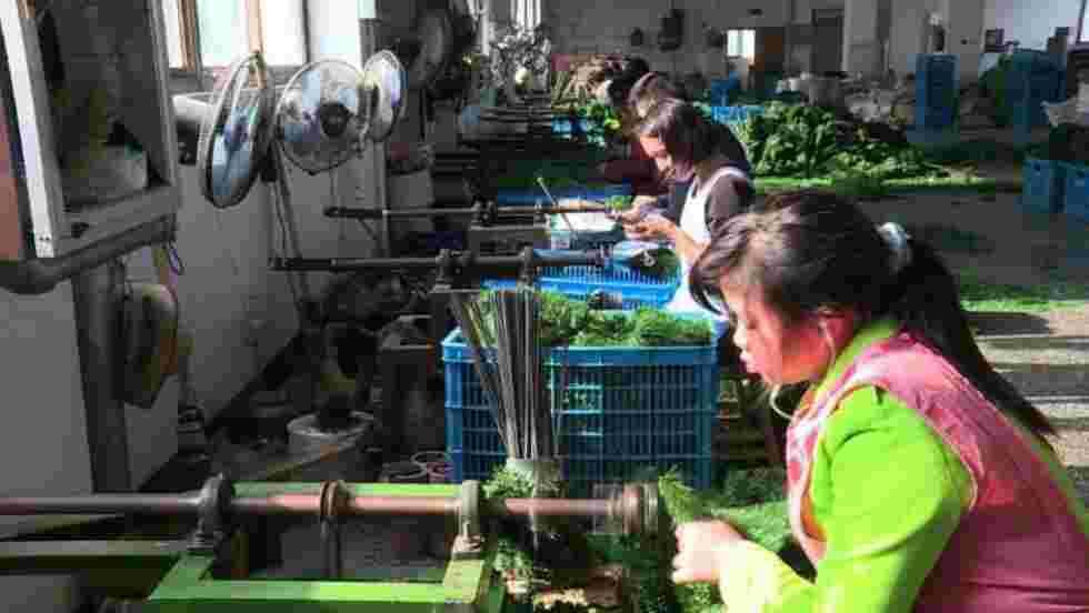 """En Chine, """"l'atelier du père Noël"""" tourne à plein régime"""