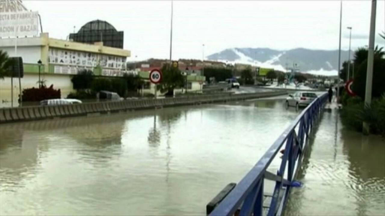 Espagne: deux morts dans des inondations
