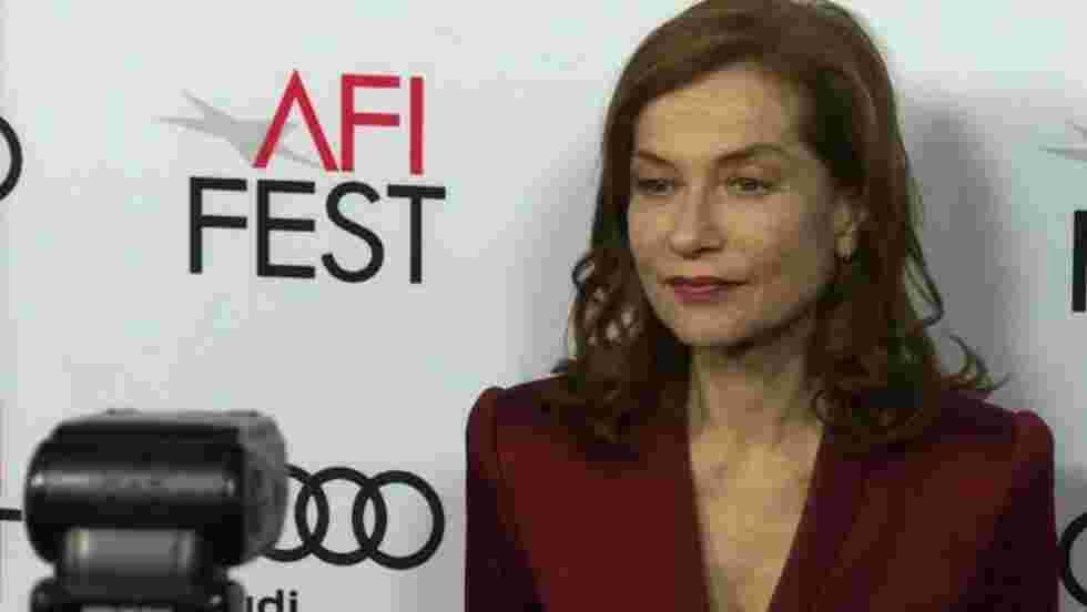 Isabelle Huppert honorée à Los Angeles