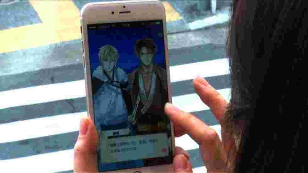Japon: succès des appli de simulation amoureuse