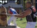 VIDÉO - La coupe de bois sportive en plein boom en Australie
