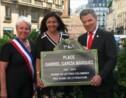 Le président colombien inaugure la place Marquez à Paris