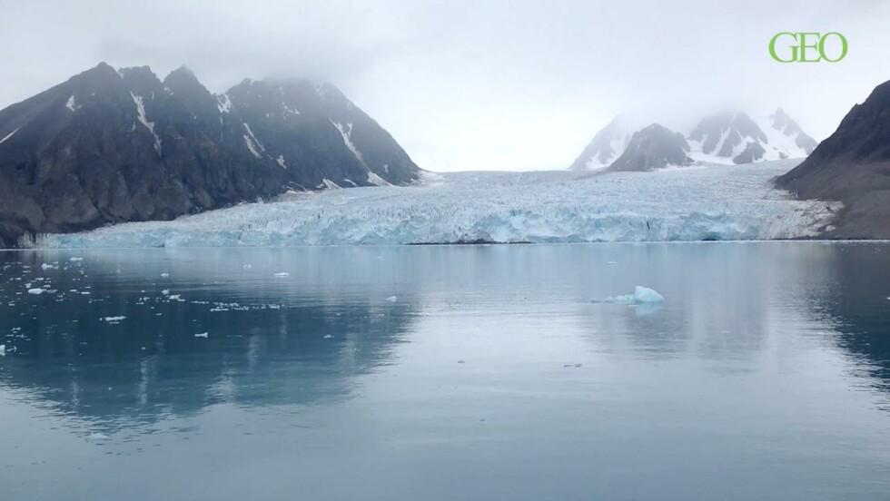 VIDÉO - Trésors arctiques : les glaciers du Svalbard