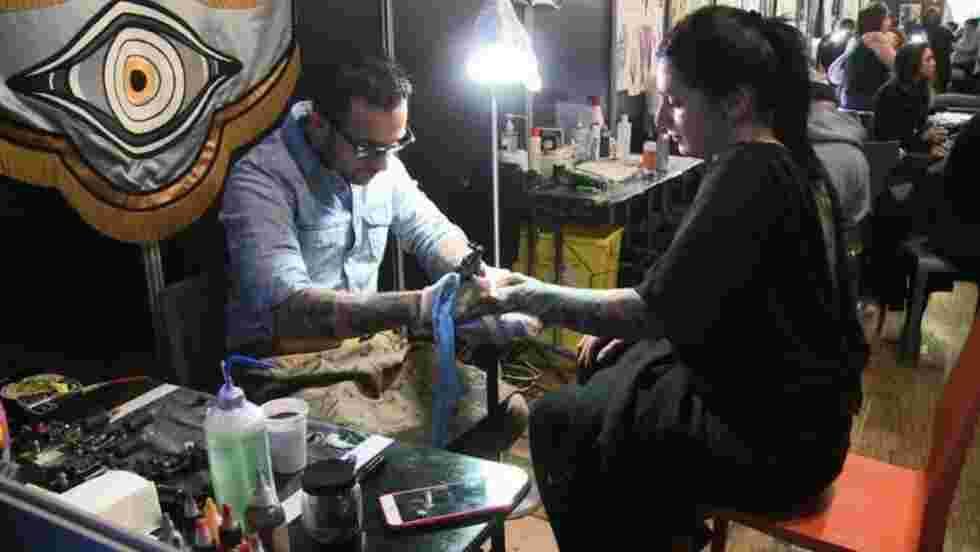 Le tatouage s'expose au Mondial de Paris