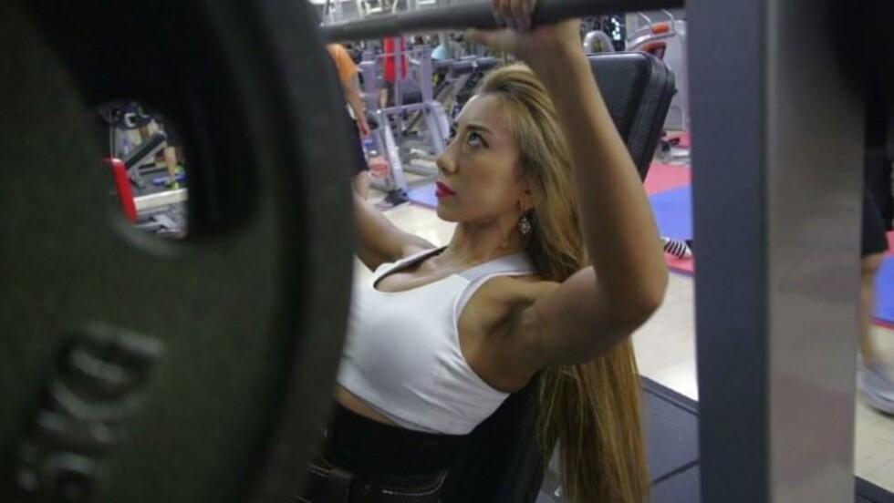 Les bodybuildeuses japonaises suent pour la cause féminine