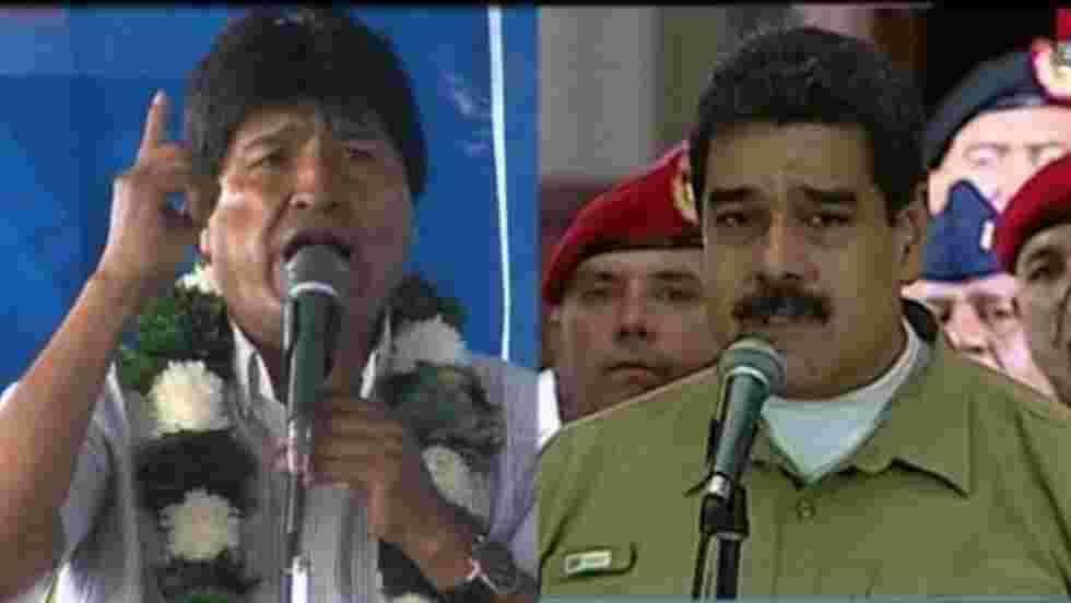 Maduro et Morales rendent hommage à Fidel Castro