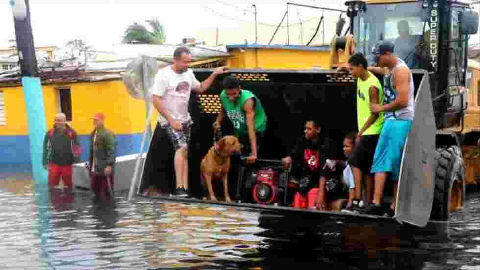 Ouragan Maria: Puerto Rico frappé par des inondations