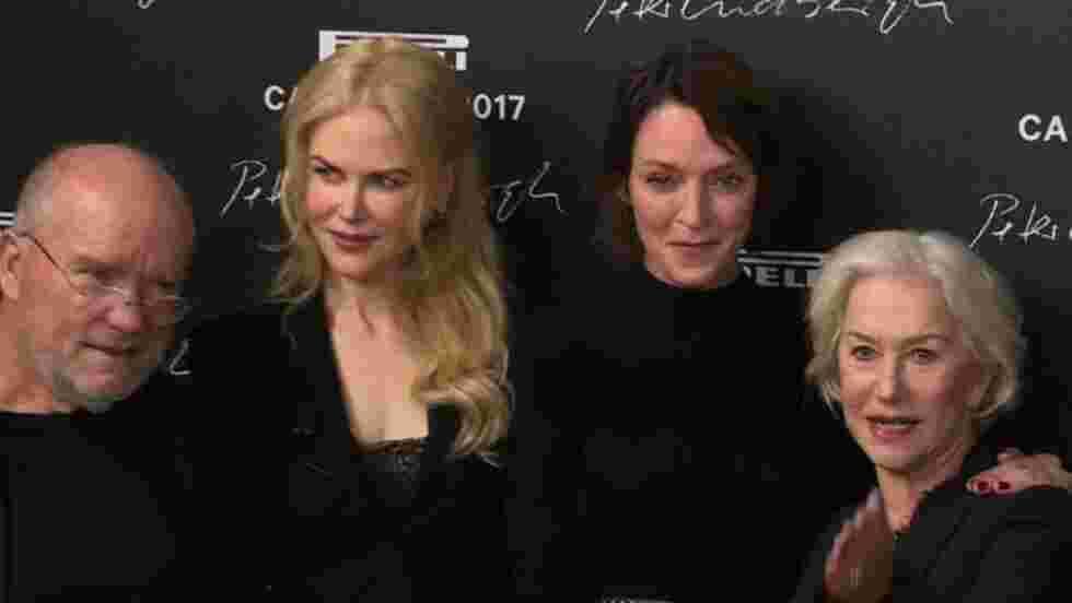 Peter Lindbergh sublime 14 actrices pour le calendrier Pirelli