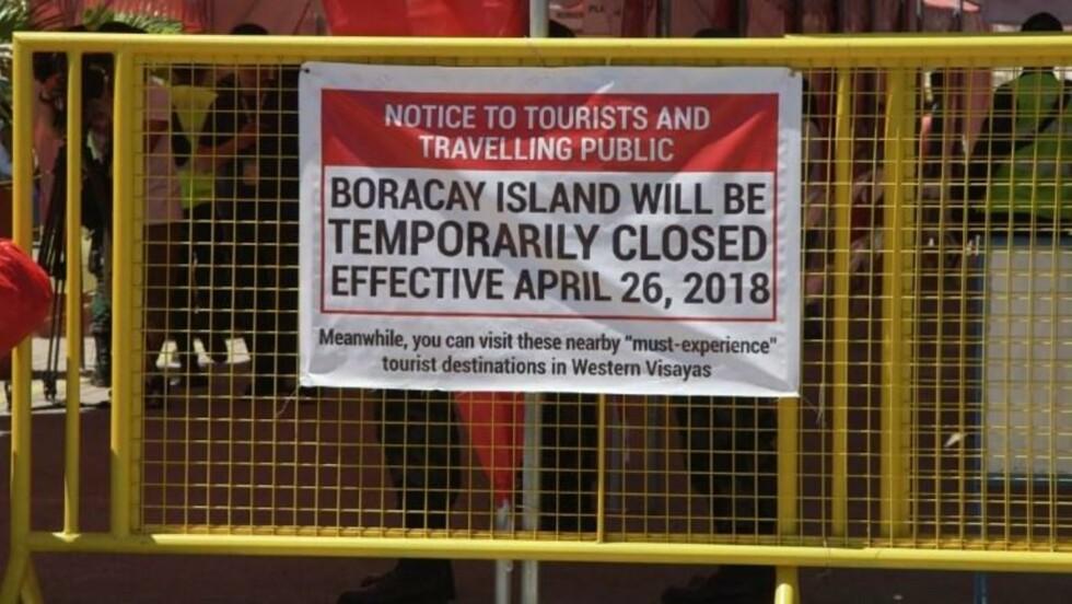 VIDÉO - Philippines : Boracay se prépare à fermer ses portes