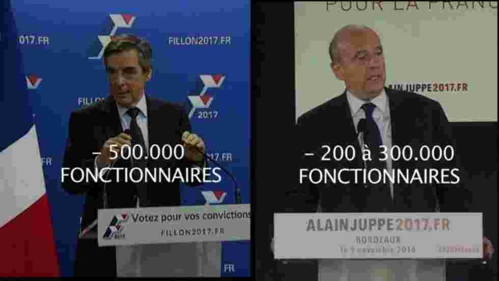 Primaire à droite : les programmes des 2 candidats