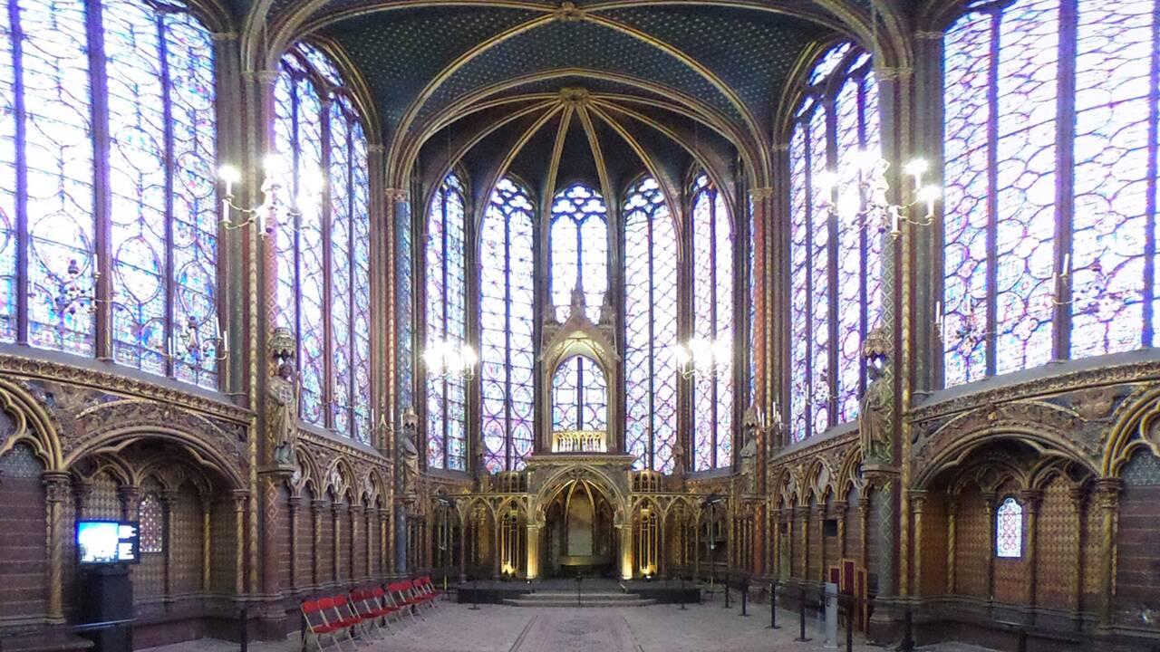 VIDÉO - La Sainte-Chapelle à 360 degrés