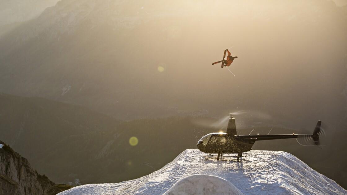VIDÉO - Pays de Savoie : les prouesses du skieur de génie Candide Thovex
