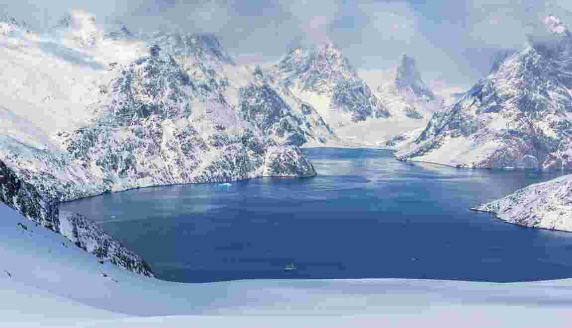 Groenland : la magie du ski sur neige arctique