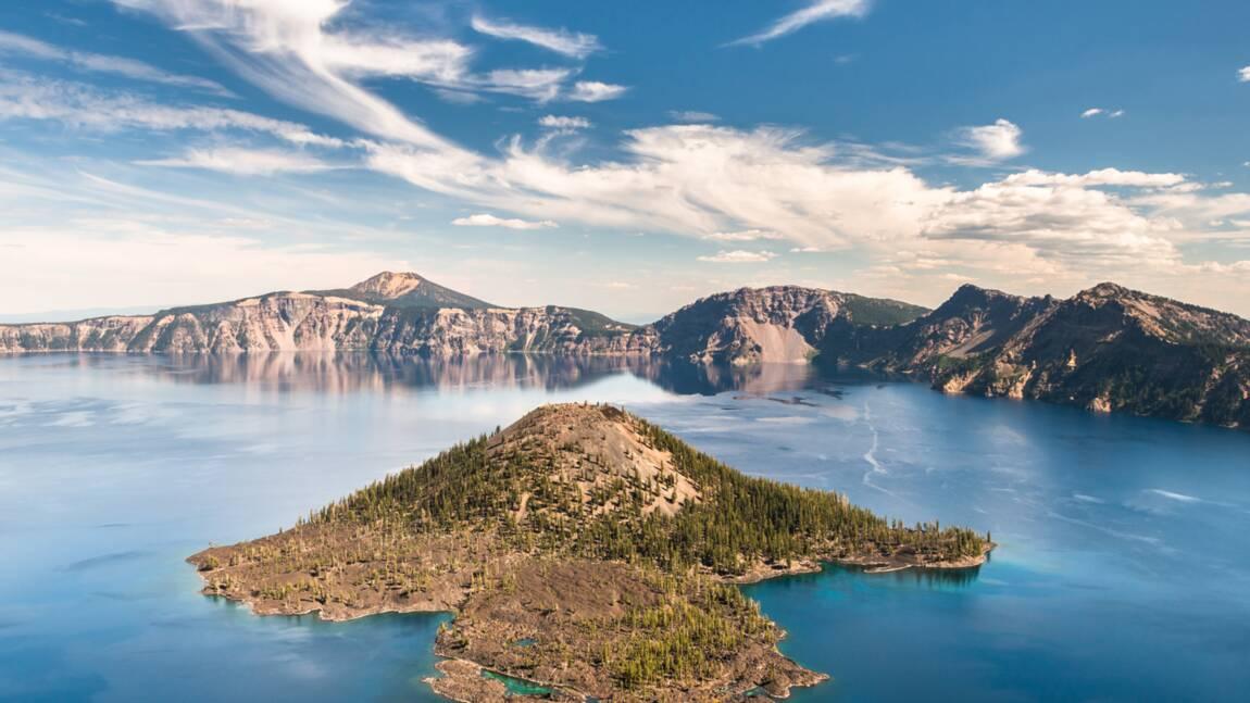 Etats-Unis : Crater Lake, lieu de légendes amérindiennes