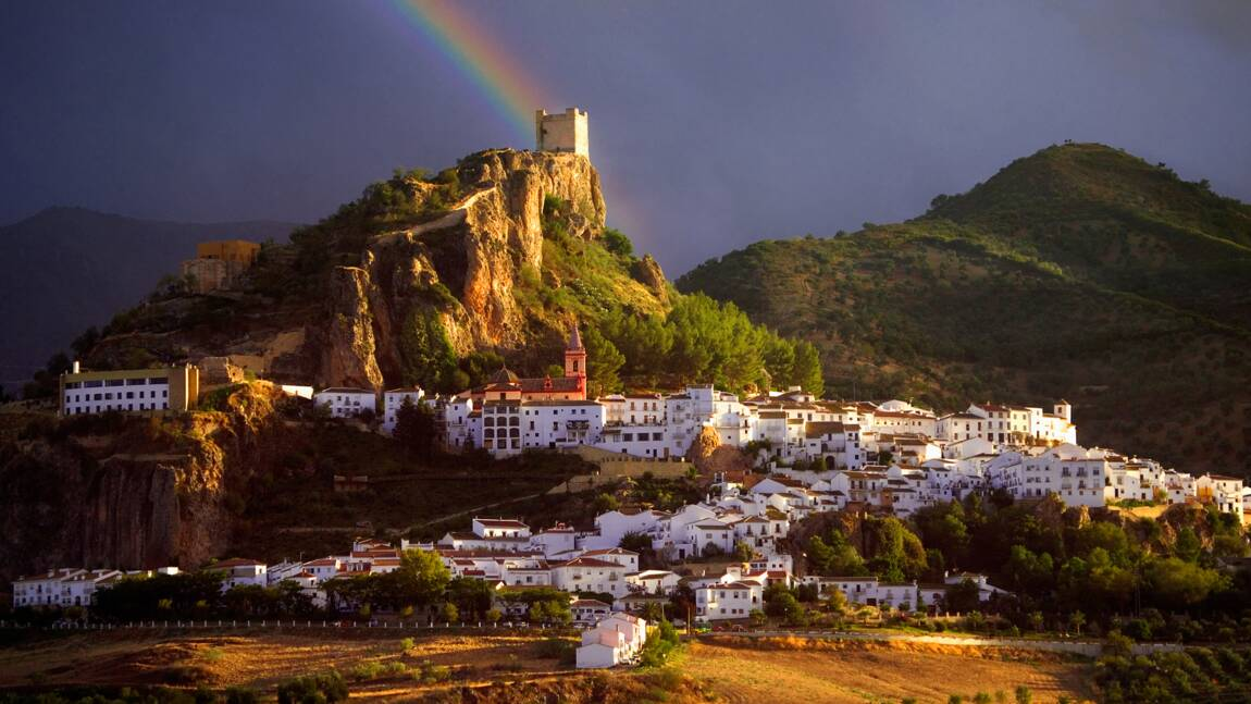 Les villages blancs de l'Andalousie