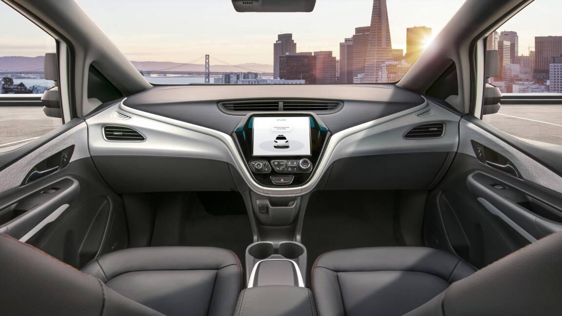 GM: demande d'autorisation pour une voiture sans volant ni pédales