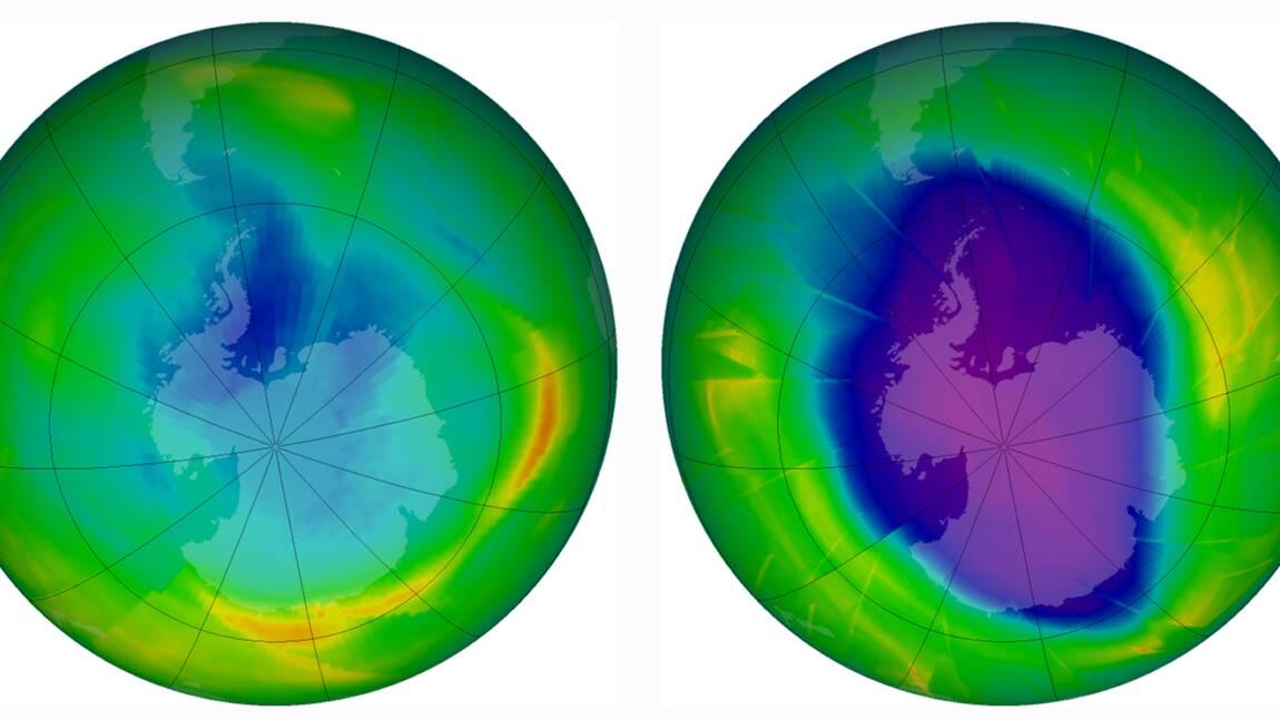 Un gaz néfaste pour la couche d'ozone, pourtant interdit, repéré en Chine