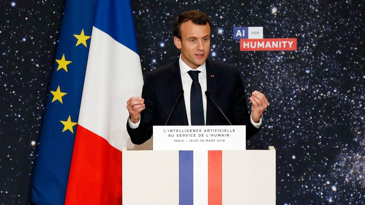 La France dévoile son plan pour devenir un leader de l'intelligence artificielle
