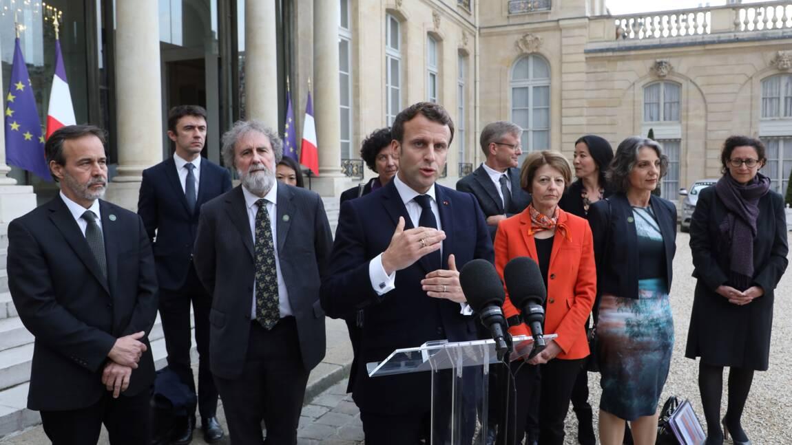 Gaspillage, espaces protégés: Macron annonce des actions pour la biodiversité