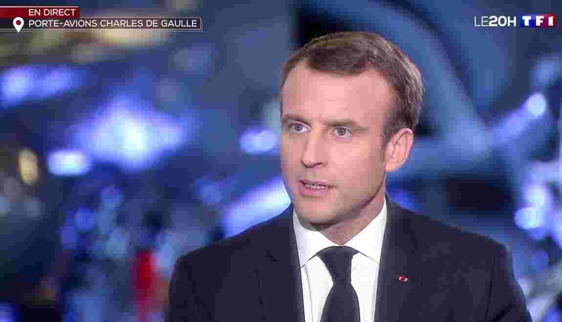 """""""Gilets jaunes"""": Macron """"entend la colère"""" mais dit """"méfiance"""" face aux récupérations"""