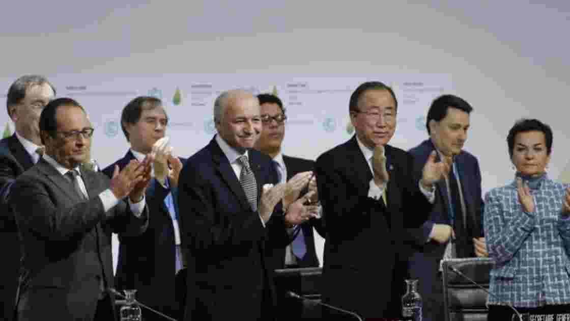 Entrée en vigueur accélérée de l'accord de Paris sur le climat
