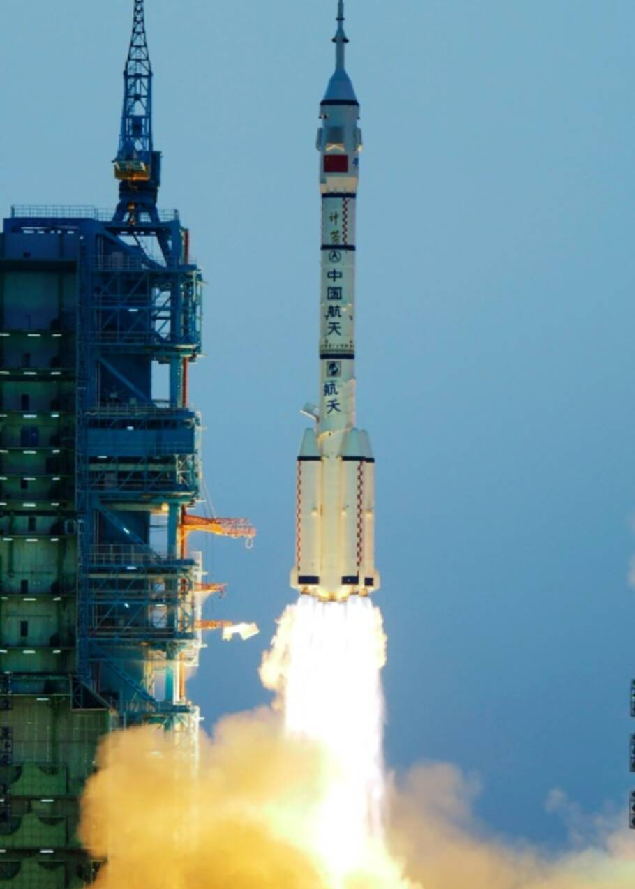 La Chine lance une nouvelle mission spatiale habitée