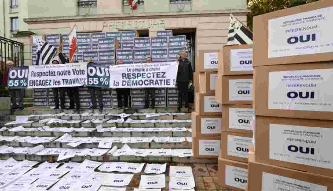 Notre-Dame-des-Landes: nouvel obstacle en vue pour le chantier de l'aéroport controversé