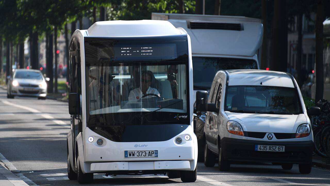 Sans chauffeur ou modulable, la mobilité électrique de demain
