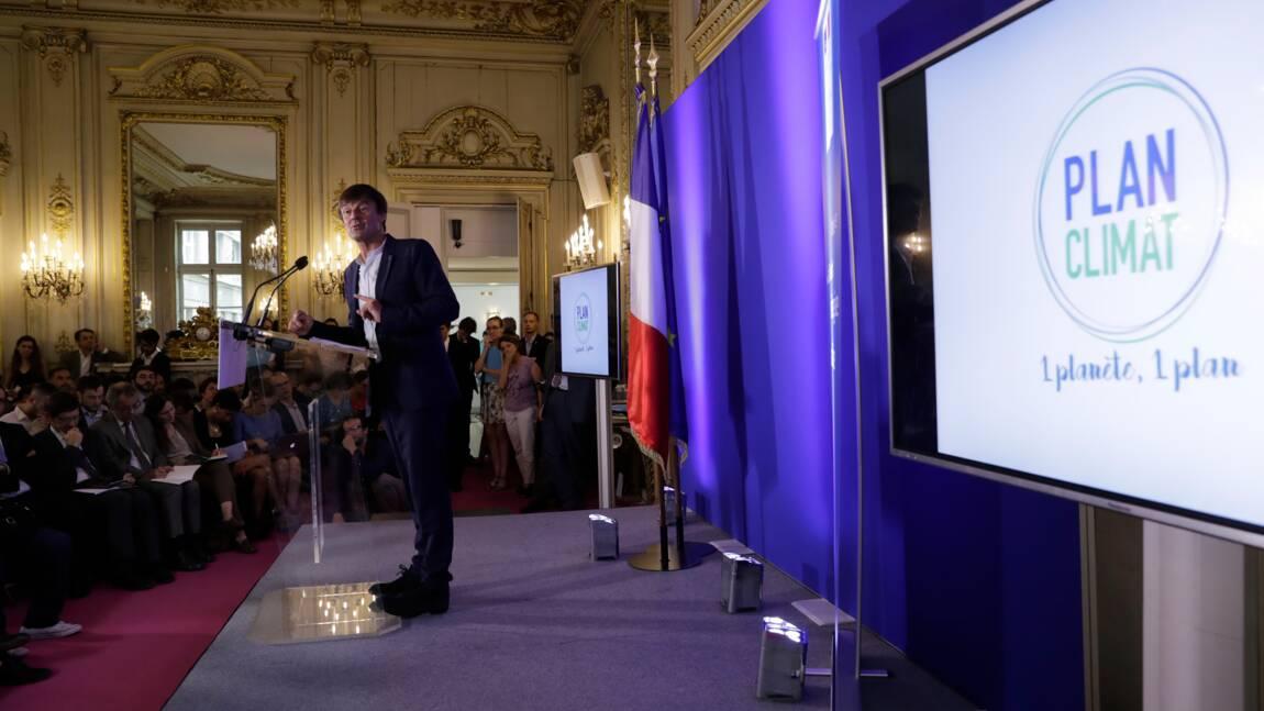 """Plan climat: """"dix ans"""" pour éradiquer les """"passoires thermiques"""""""