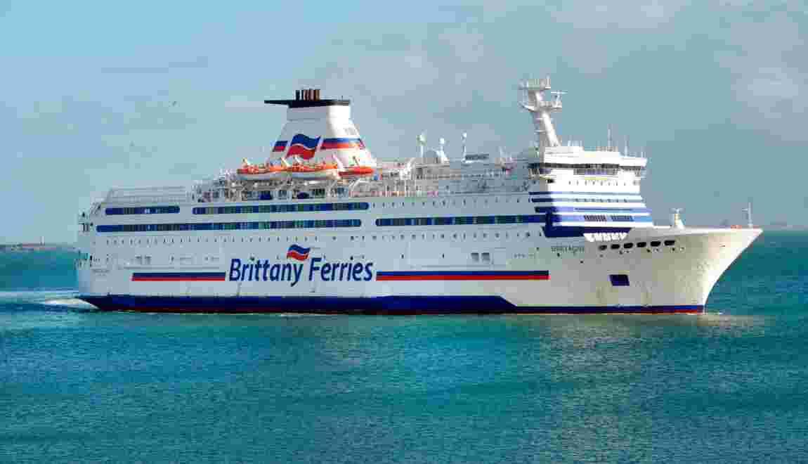 """Brittany Ferries confirme la commande d'un navire """"vert"""" à un chantier allemand"""