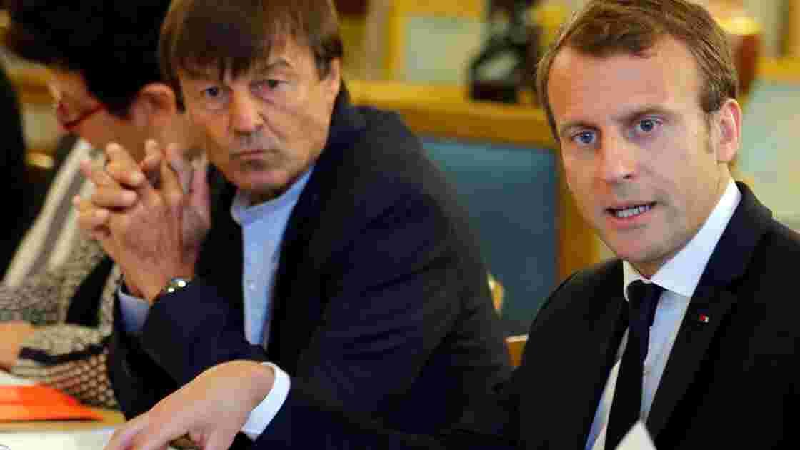 Macron tente lundi de mettre d'accord Hulot et les chasseurs