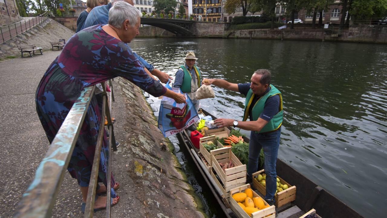 Strasbourg : un marché flottant à la rencontre des habitants du centre-ville
