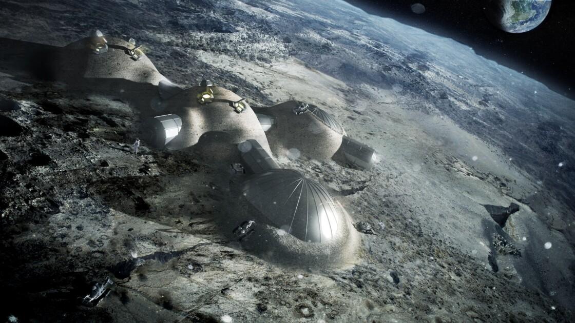 """Le """"village lunaire"""", première étape vers Mars selon l'ESA"""