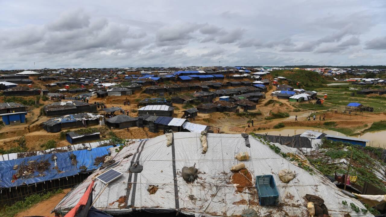 Le solaire, source d'énergie des camps rohingyas