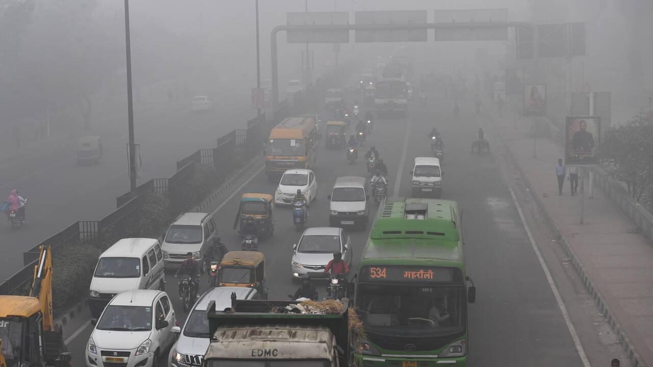 A New Delhi, deuxième journée d'asphyxie et de pollution