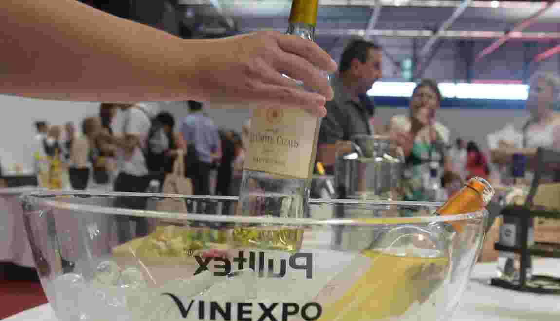 Vinexpo: des vignerons mobilisés contre le réchauffement