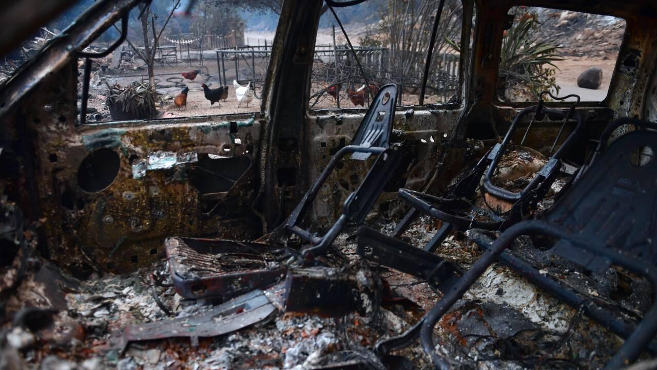 La Californie espère un répit sur le front des incendies